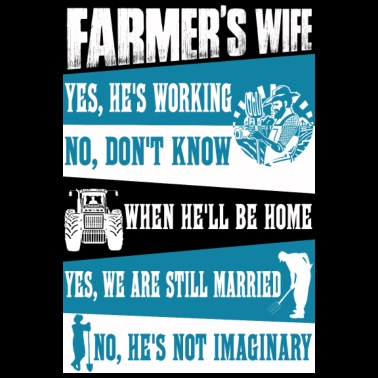 4d4d28d7a Farmer no farmers no food farmer's wife farmers - Women's Premium T-Shirt