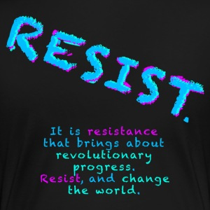Resist with Subtext - Women's Premium T-Shirt
