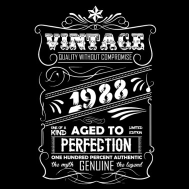 1bd0243a7 Vintage Perfectly Aged 1988 Limited Edition Women's Premium Tank Top ...