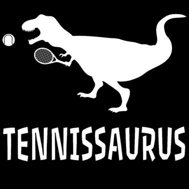 69589a33 Tennis Dinosaur T-Rex Shirt Gift Christmas Present - Women's Premium T-Shirt