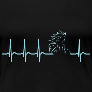 Hearbeat Horse lover owner pony trainer gift