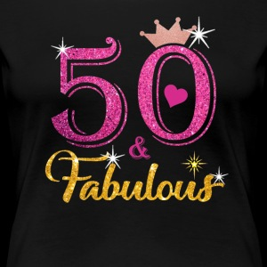 50 Fabulous Queen Shirt 50th Birthday Gifts