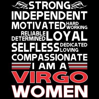 Virgo Woman Women's T-Shirt - black