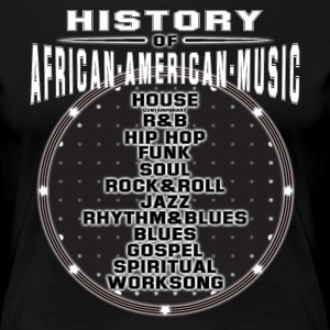 Music T-Shirt - History Of African American Music