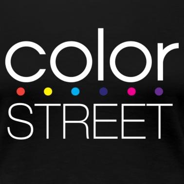 Color Street Block Color Logo Women S Premium T Shirt White