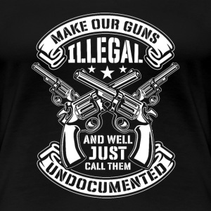 Make our Guns illegal call them undocumented