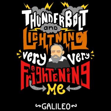 Galileo Galilei Thunderbolt And Lighting Women S Premium T