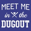 Meet me in the dugout - Women's Premium T-Shirt