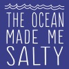 The ocean made me salty - Women's Premium T-Shirt