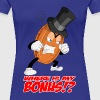 THE ANGRY PENNY WITH TEXT - Women's Premium T-Shirt