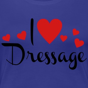 dressage - Women's Premium T-Shirt