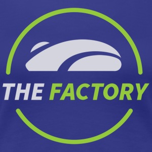 The Factory Sticker - Women's Premium T-Shirt