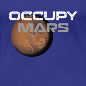 occupy mars - Women's Premium T-Shirt