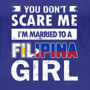 Cute Filipina wife tee shirt - Women's Premium T-Shirt