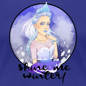 Shine me Winter! - Women's Premium T-Shirt