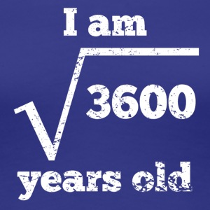 60th Birthday Square Root - Women's Premium T-Shirt