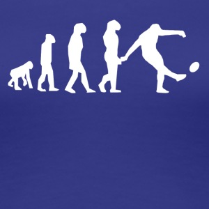 Rugby Kick Evolution - Women's Premium T-Shirt