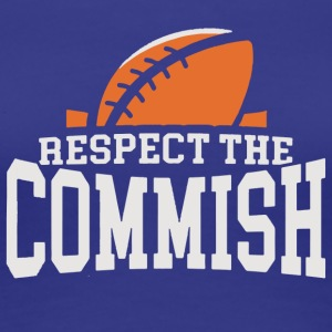 Respect the Commish Logo - Women's Premium T-Shirt