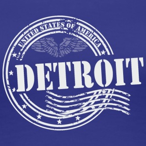 Stamp Detroit - Women's Premium T-Shirt