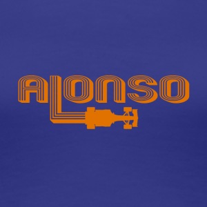 Auto Racing Champion Alonso - Women's Premium T-Shirt