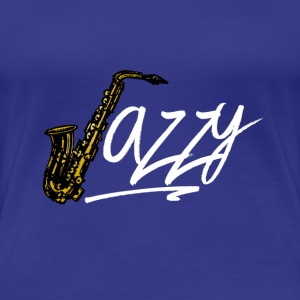 JazzyShirt-WhiteEdition - Women's Premium T-Shirt