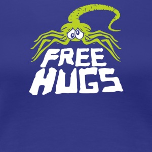 Free Hugs Alien Face Hugger - Women's Premium T-Shirt