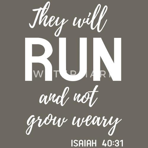 they will run and not grow weary women s premium t shirt spreadshirt