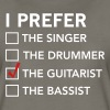 I prefer the guitarist checklist - Women's Premium T-Shirt