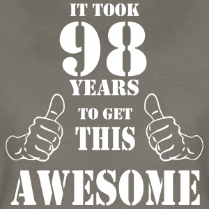 98th Birthday Get Awesome T Shirt Made in 1919 - Women's Premium T-Shirt