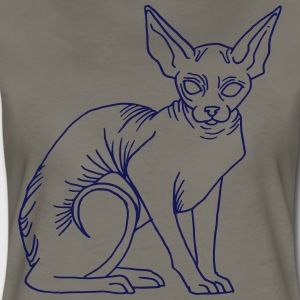 naked cat - Women's Premium T-Shirt