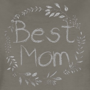 Best Mom Chalk Vine - Women's Premium T-Shirt
