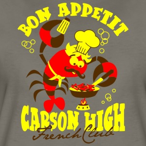 Bon Appetit Carson High French Club - Women's Premium T-Shirt