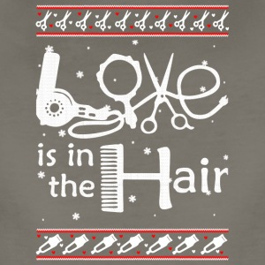 Love Is In The Hair hair stylist T Shirt - Women's Premium T-Shirt