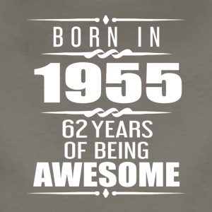 Born in 1955 62 Years of Being Awesome - Women's Premium T-Shirt
