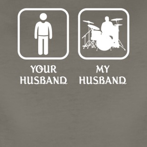 Husband Drummer Love- cool shirt,geek hoodie,tank - Women's Premium T-Shirt