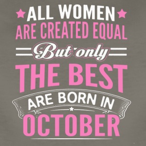 Best Women Are Born In October Shirt - Women's Premium T-Shirt