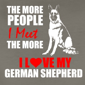 German Shepard - Women's Premium T-Shirt