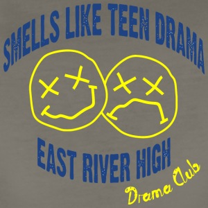 Smells Like Teen Drama East River High Drama Club - Women's Premium T-Shirt