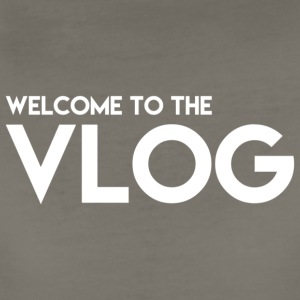 Welcome to the Vlog - Women's Premium T-Shirt