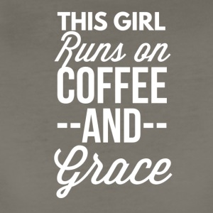 Coffee and Grace - Women's Premium T-Shirt