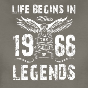 Life Begin In 1966 Legends - Women's Premium T-Shirt
