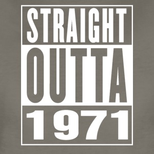 Straight Outa 1971 - Women's Premium T-Shirt