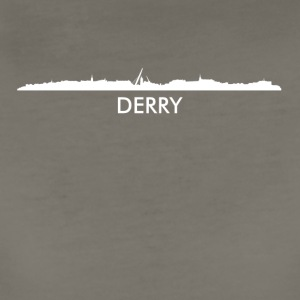 Derry Northern Ireland Skyline - Women's Premium T-Shirt