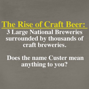 The Rise of Craft Beer - Women's Premium T-Shirt