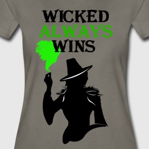 Wicked Always Wins! Zelena T-Shirt. - Women's Premium T-Shirt