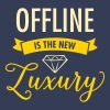 Offline Is The New Luxury - Women's Premium T-Shirt