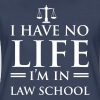 I have no life. I'm in law school - Women's Premium T-Shirt