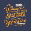 I'm yarnaholic on the road to recovery - Women's Premium T-Shirt