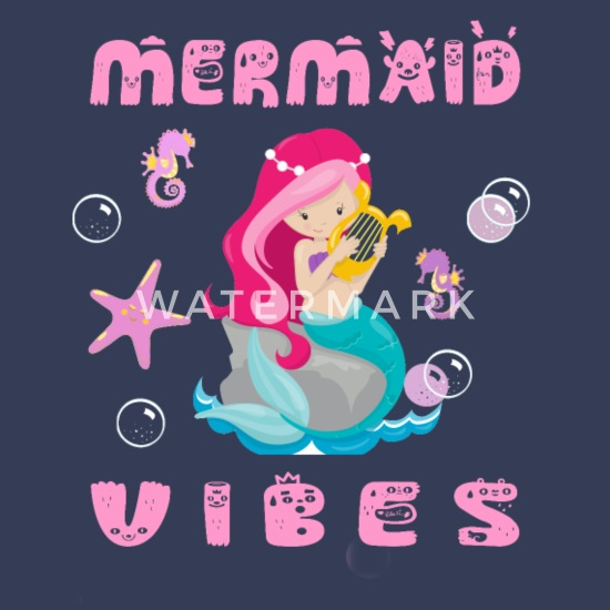 Mermaid Vibes - Funny Fable Gift with Clamshells Women's
