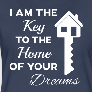 Real Estate- I'm the Key to the Home of your Dream - Women's Premium T-Shirt